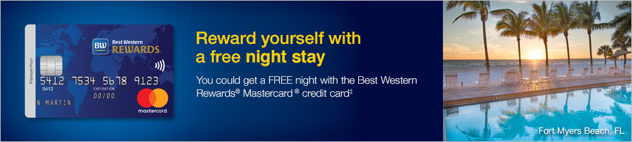 Apply for the Best Western® Rewards Mastercard credit card from MBNA